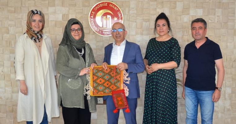 Kültürel Miras Anadolu Projesi Ekibinden, Rektör Prof. Dr. Sedat Murat'a Ziyaret