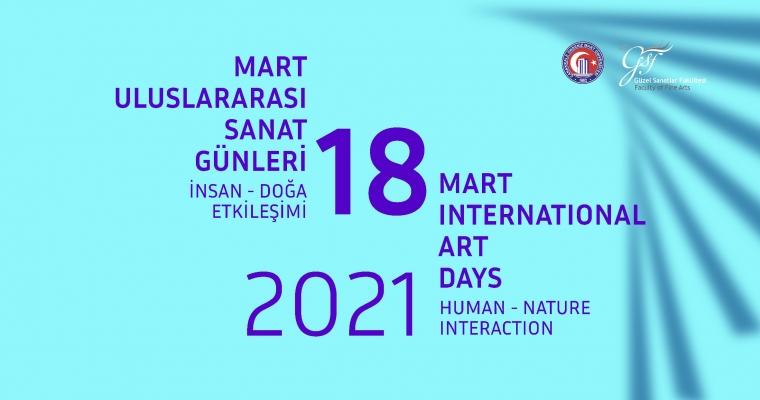18 Mart Uluslararası Sanat Günleri Sergisi