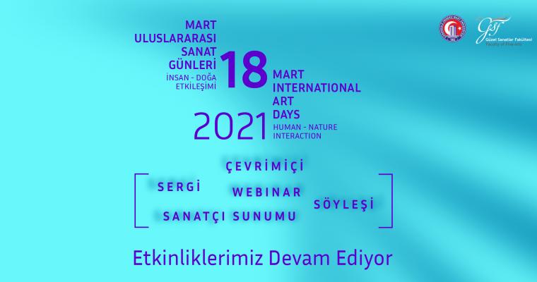 18 Mart Uluslararası Sanat Günleri