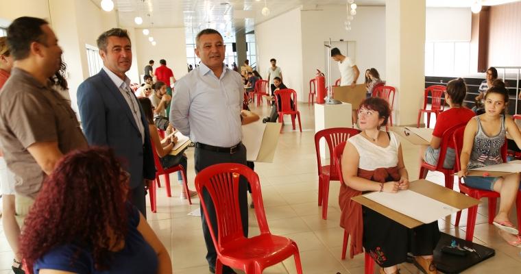 Güzel Sanatlar Fakültesi Yetenek Sınavlarının 1. Aşaması Gerçekleşti