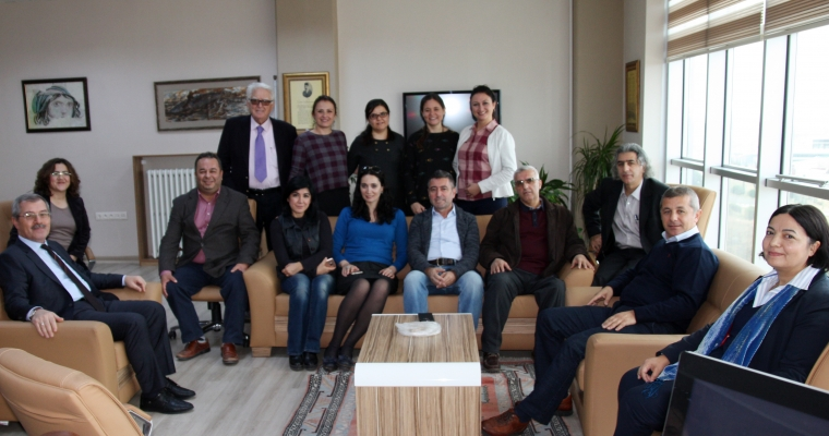 Güzel Sanatlar Fakültesi Dekanı Prof. Dinçay Köksal'ın Doğum Günü Kutlaması