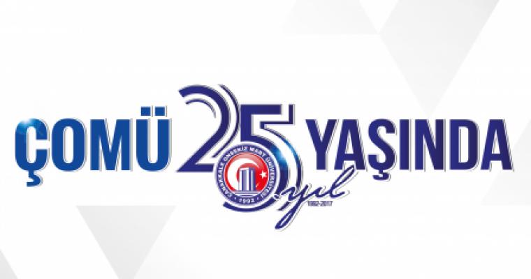 Eğitimde ve Bilimde Dünya Üniversitesi Çanakkale Onsekiz Mart Üniversitesi 25 Yaşında