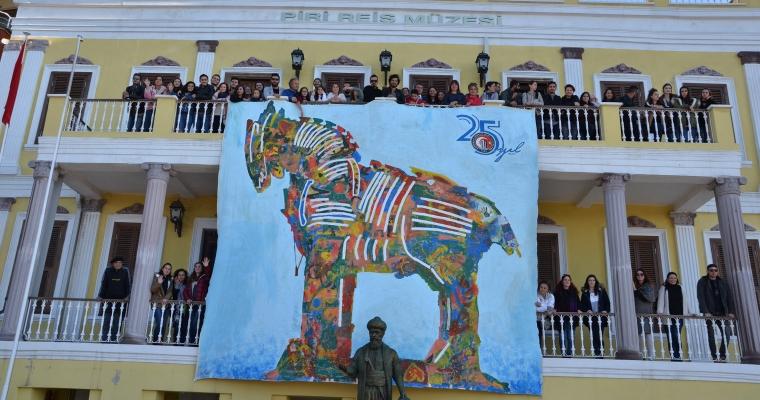 29 Ekim Cumhuriyet Bayramı Çanakkalede Çoşkuyla Kutlandı