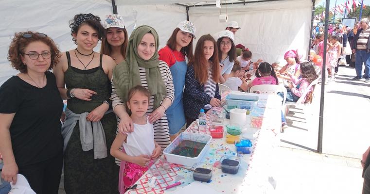Geleneksel Türk Sanatları Öğrenci Topluluğu 23 Nisan Etkinliklerinde