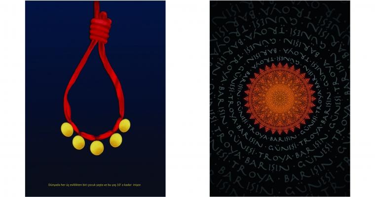 GSF Grafik Tasarım Bölümünden iki ödül