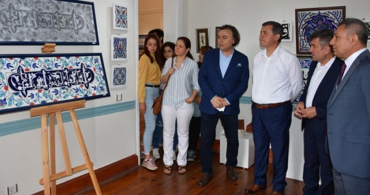 Geleneksel Türk Sanatları Bölümü Son Sınıf Öğrencilerinin Sergisi Açıldı