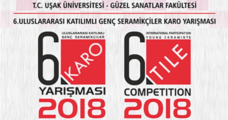 Uluslararası Katılımlı Genç Seramikçiler Karo Yarışması