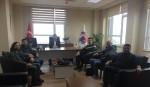 Teknik Bilimler Meslek Yüksekokulu Müdürlüğü'ne yeni atanan Dr. Öğr. Üyesi Halil Murat ENGİNSOY'a tebrik ziyareti gerçekleştirildi