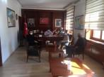 Gökçeada Kaymakamımız Dr. Serhat Doğan ile dış paydaş toplantısı gerçekleştirildi