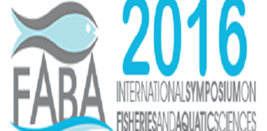 International Symposium on Fisheries and Aquatic Sciences FABA 2016'ya Yüksekokulumuzdan Katılım