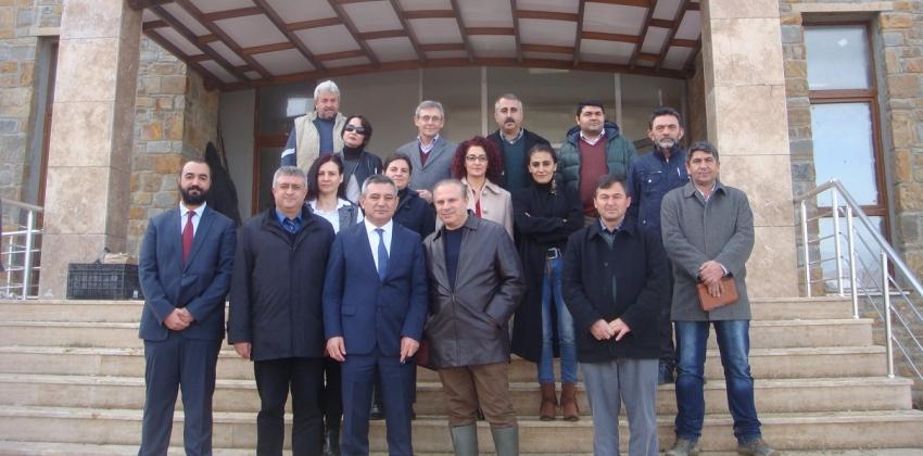 Rektör Prof. Dr. Yücel Acer'in Gökçeada Uygulamalı Bilimler Yüksekokulu Ziyareti