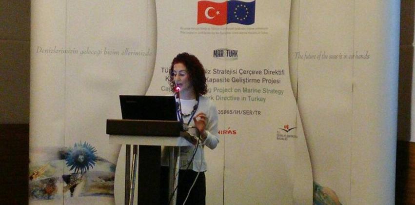 """Doç. Dr. Herdem ASLAN Samsun'da yapılan """"DSÇD Kapsamında İlk Değerlendirme ve İyi Çevresel Durum (İÇD) Tanımları"""" Çalıştayı'na konu lideri olarak katı"""
