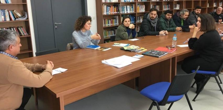 """2017-2018 Akademik Yılı Güz Dönemi """"Dönem Sonu Akademik Kurul Toplantısı"""" Gerçekleştirildi"""