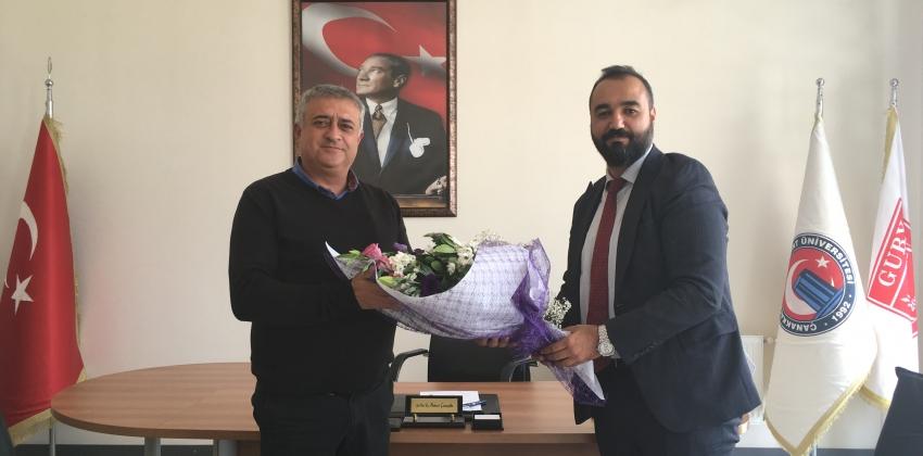 GUBY'de Devir Teslim Töreni Gerçekleştirildi