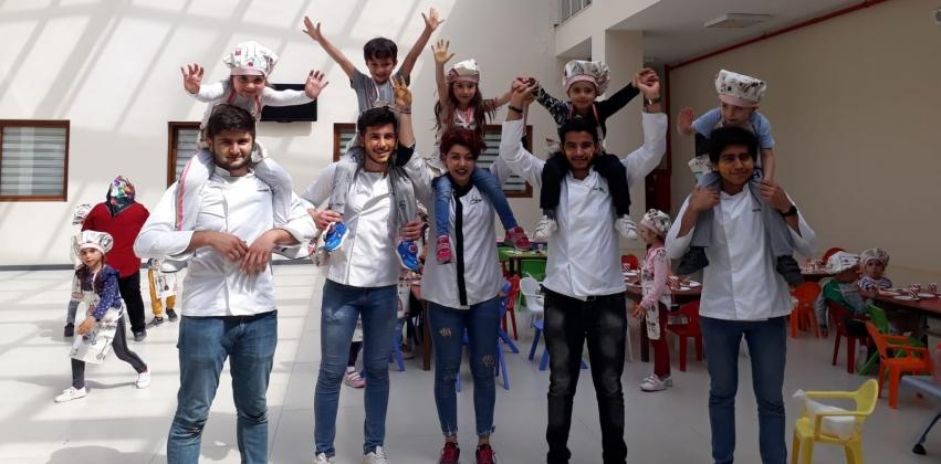 Burhanettin Kurt Anaokulu Öğrencileri Yüksekokulumuzu Ziyaret Etti