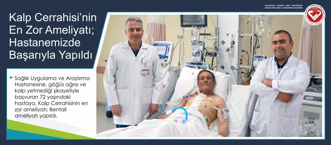Kalp Cerrahisinin En Zor Ameliyatı; Hastanemizde Başarıyla Yapıldı
