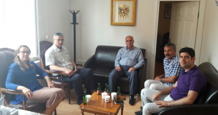 Çanakkale Ak Parti İl Başkanı Yeşim KARADAĞ' dan Hastanemize Ziyaret