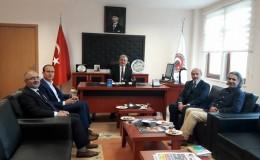Prof. Dr. Hayati Hökelekli'den Fakültemize Ziyaret