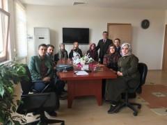 Fakültemiz Öğrenci Toplulukları Başkanları Dekanımız Prof. Dr. Şevket YAVUZ'u ziyaret ettiler