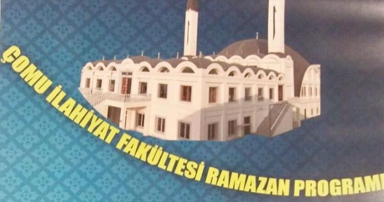 Fakültemiz Ramazan-ı Şerif Programı