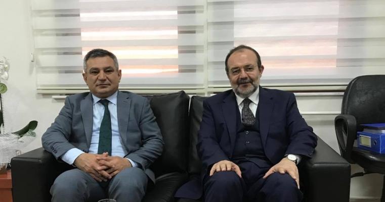 Rektörümüz Prof. Dr. Yücel ACER , Diyanet İşleri emekli Başkanı Prof. Dr. Mehmet GÖRMEZ ile Fakültemizde...