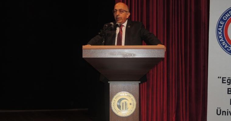 """""""Yeni Akademik Yılına Hoşgeldiniz"""" Programı Rektörümüz Prof. Dr. Sedat MURAT'ın teşrifleriyle gerçekleştirildi."""