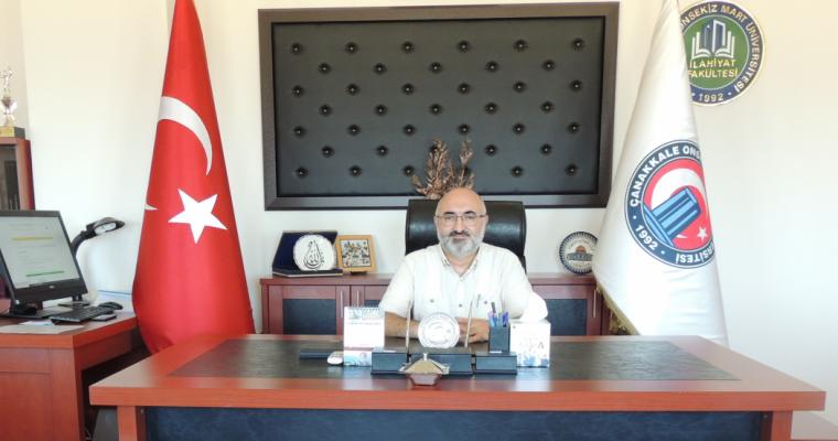 Prof. Dr. Nimetullah AKIN Hocamız Fakültemize Dekan olarak atandı.
