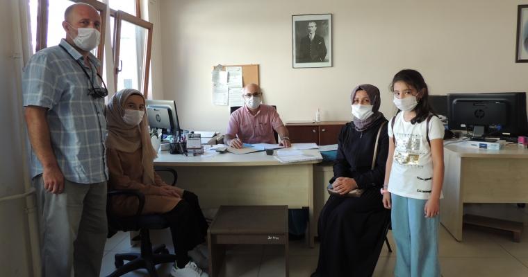 2020-2021 Eğitim-Öğretim Yılında İlk Öğrenci Kaydı Dekanımız Prof. Dr. Nimetullah AKIN Hocamız tarafından yapıldı.