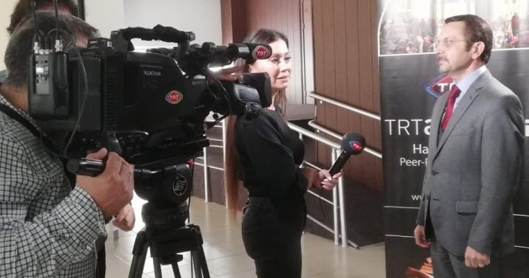 TRT Akademi İletişim Fakültesi Öğrencileri İle Buluştu