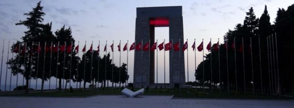 Şehitler Abidesi-Gelibolu Yarımadası Tarihi Alan Başkanlığı, Eceabat