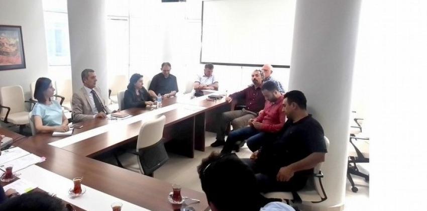 Devlet Konservatuarımız Müdürü Bina Yenileme Çalışmaları Toplantısına Katıldı