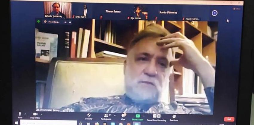 """""""Senfonik Sohbetler"""" Etkinliğinde Keman Sanatçısı ve Orkestra Şefi Hakan ŞENSOY Konuk Olarak Yer Aldı"""