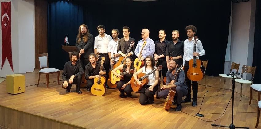 Devlet Konservatuarı Klasik Gitar Dinletisi Gerçekleştirildi