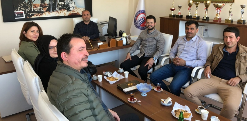 AK Parti İlçe Yönetiminden Yüksekokulumuza Ziyaret