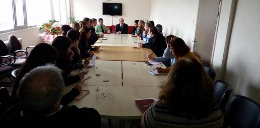 Lapseki Meslek Yüksekokulu Akademik Toplantısı Yapıldı