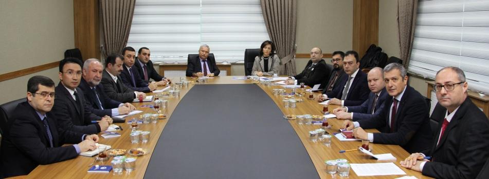 TÜB MYO Koordinatörleri Toplantısı Kırklareli Üniversitesi'nde Yapıldı