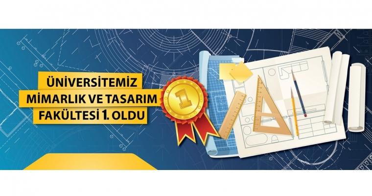 Çanakkale Onsekiz Mart Üniversitesi Mimarlık ve Tasarım Fakültesi Türkiye 1.si