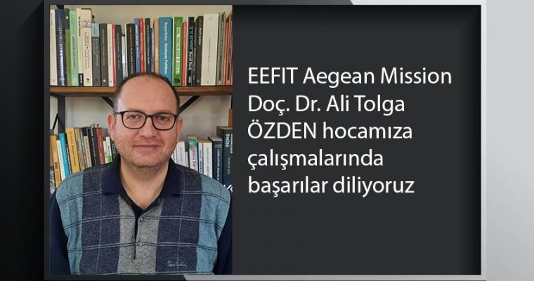 EEFIT Aegean Mission - Doç. Dr. Ali Tolga ÖZDEN hocamıza çalışmalarında başarılar diliyoruz