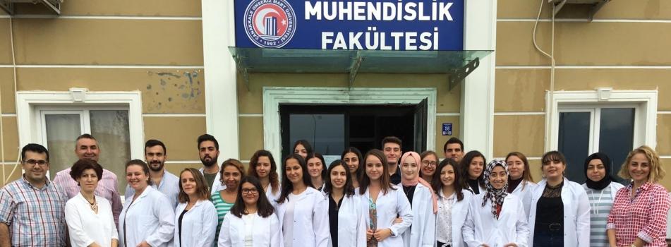 1. Kimya Mühendisliği Bölümü Önlük Giyme Töreni