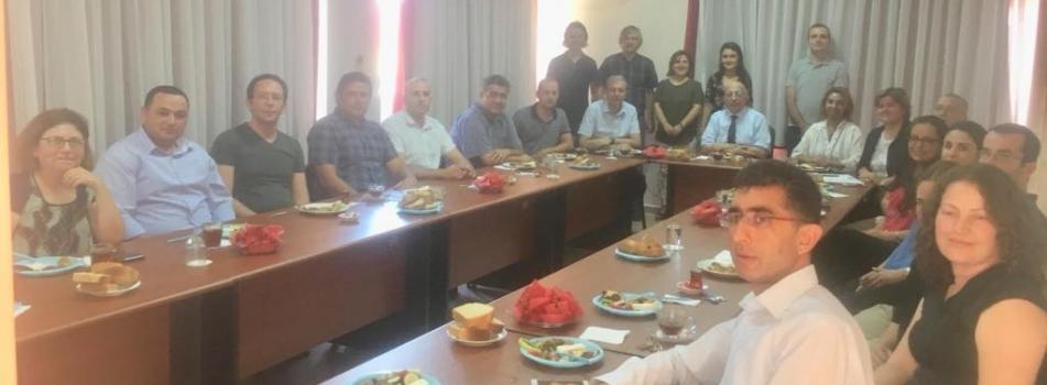Rektörümüz Prof. Dr. Sedat Murat'ın Bölümümüzü Ziyareti
