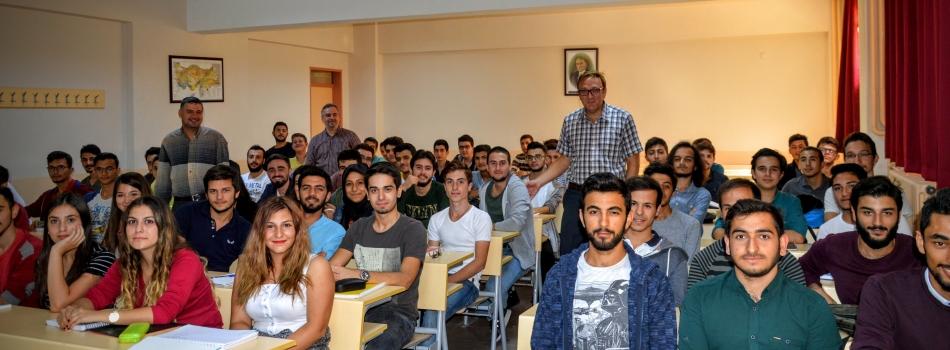 İnşaat Mühendisliği Bölümü 2016-2017 Güz Dönemi Öğrencilerle Tanışma Dersi
