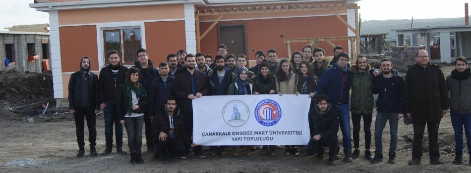 Ayvacık-Yukarıköy Deprem Bölgesine Teknik Gezi
