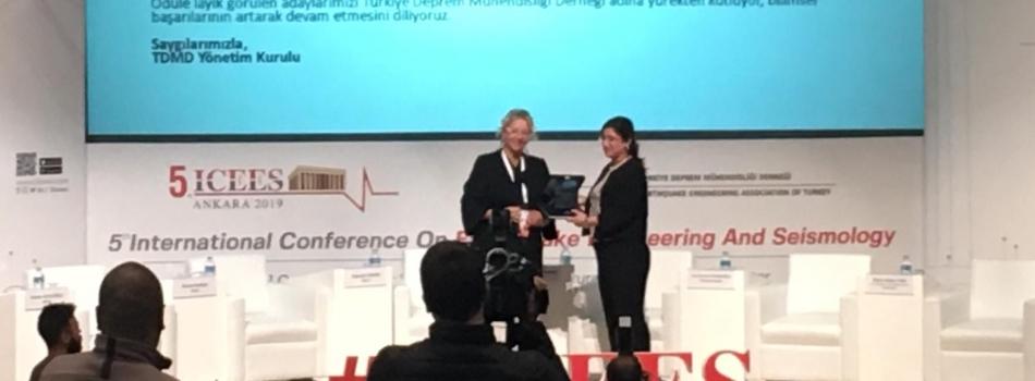 Türkiye Deprem Mühendisliği Derneği 2019 Ödül Töreni