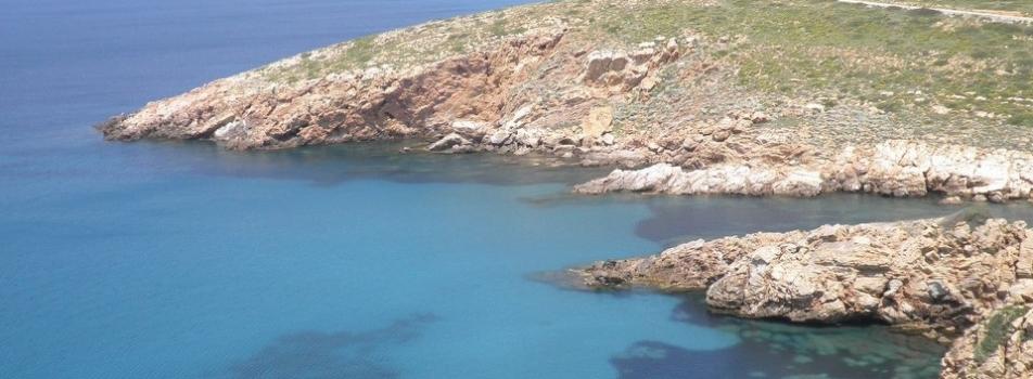 Bozcaada güney kıyıları - (Çanakkale)