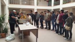 Mühendislik Fakültesi Dekanlığından öğrencilere Aşure İkramı