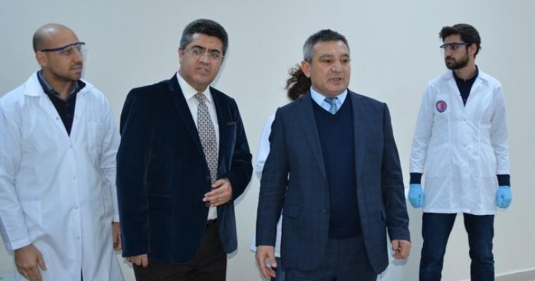 ÇOMÜ Rektörü Prof. Dr. Yücel ACER Mühendislik Fakültesini ziyaret etti