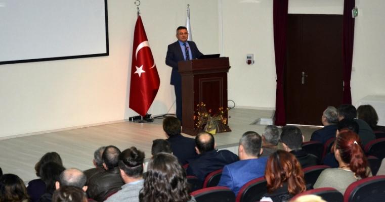 27 Ekim 2017 tarihinde, Rektör Prof.Dr. Yücel ACER'in katılımıyla, Mühendislik Fakültesi akademik kurulu gerçekleştirildi.