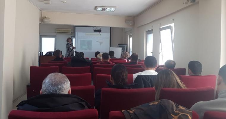 """Jeofizik mühendisliği bölümünden Prof Dr Emin Uğur Ulugergerli ve Dr. Şebnem Önder'den """"Adli Jeofizik Uygulamaları"""" semineri"""