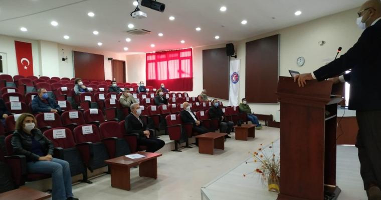 Rektörümüz Sayın Prof. Dr. Sedat MURAT 02 Aralık 2020 tarihinde Fakültemizi ziyaret ederek Fakültemiz Bölüm Başkanları ile bir araya geldi.