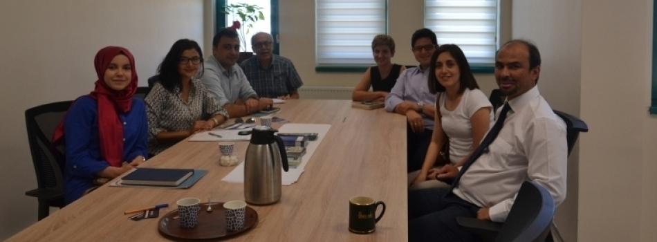 Proje Koordinasyon Merkezi Ankara'da Temaslarda Bulundu